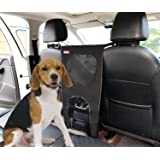 [Newest Design] Pet Barrier - SunteeLong Dog car Barrier Backseat Barrier with Waterproof Lightweight,Mesh Pet Car Net Barrier for Trucks, Large SUV's Vans, Full Sized Sedans,Easy to Install