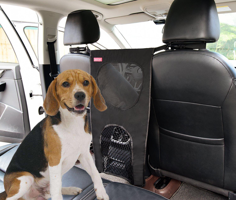 SunteeLong Pet Barrier Car Dog Barrier Dog Backseat Barrier with Waterproof Lightweight,Mesh Front Seat Pet Barrier for Trucks,SUV's,Cars & Vehicles,Universal Fit