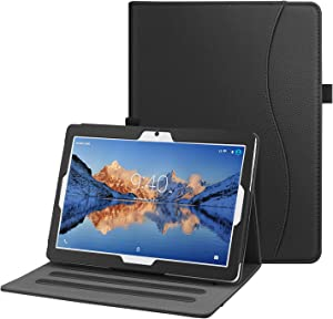 Fintie Case for ZONKO 10 K105 / Dragon Touch 10 inch K10 / Notepad K10 / Max10 Tablet, Multi-Angle Viewing Stand Cover w/Pocket for Lectrus, Victbing, Hoozo, Feonal 10.1