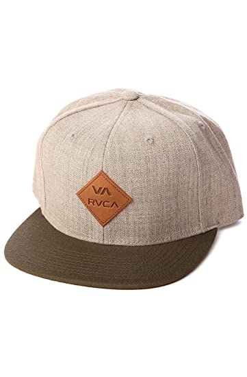 Amazon.com  RVCA Men s The Delux Hat One Size Grey  Clothing 1470a3f4a5e