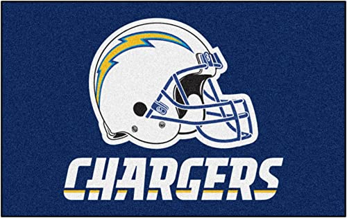 FANMATS NFL San Diego Chargers Nylon Face Ultimat Rug