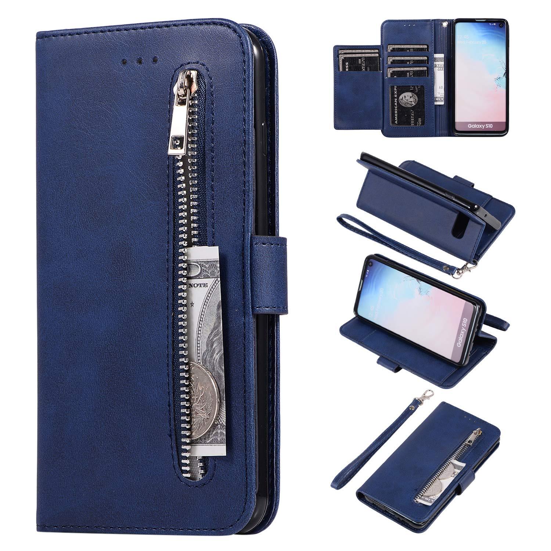 Compatibles para Samsung Galaxy S10 Funda WIWJ Libro PU ...