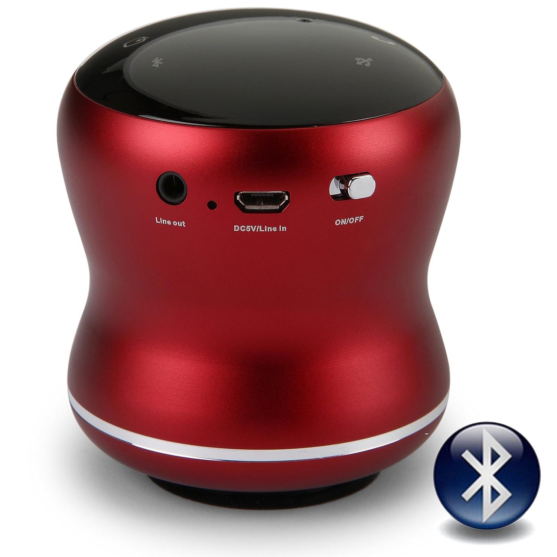 Lemon Yellow: 18 Watt Bluetooth Vibration Speaker con Touch Screen Vivavoce e Vacuum Base integrata Vibe-Tribe Mamba Daisy-Chain