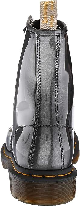 Dr. Martens 1460 W Vegan Chrome, Botines para Mujer, Gris (Gunmetal 029), 36 EU: Amazon.es: Zapatos y complementos