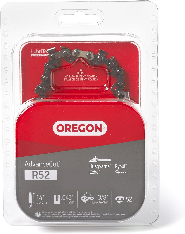 Oregon R52 AdvanceCut 14-Inch Chainsaw Chain Fits Husqvarna, Echo, Ryobi: Garden & Outdoor