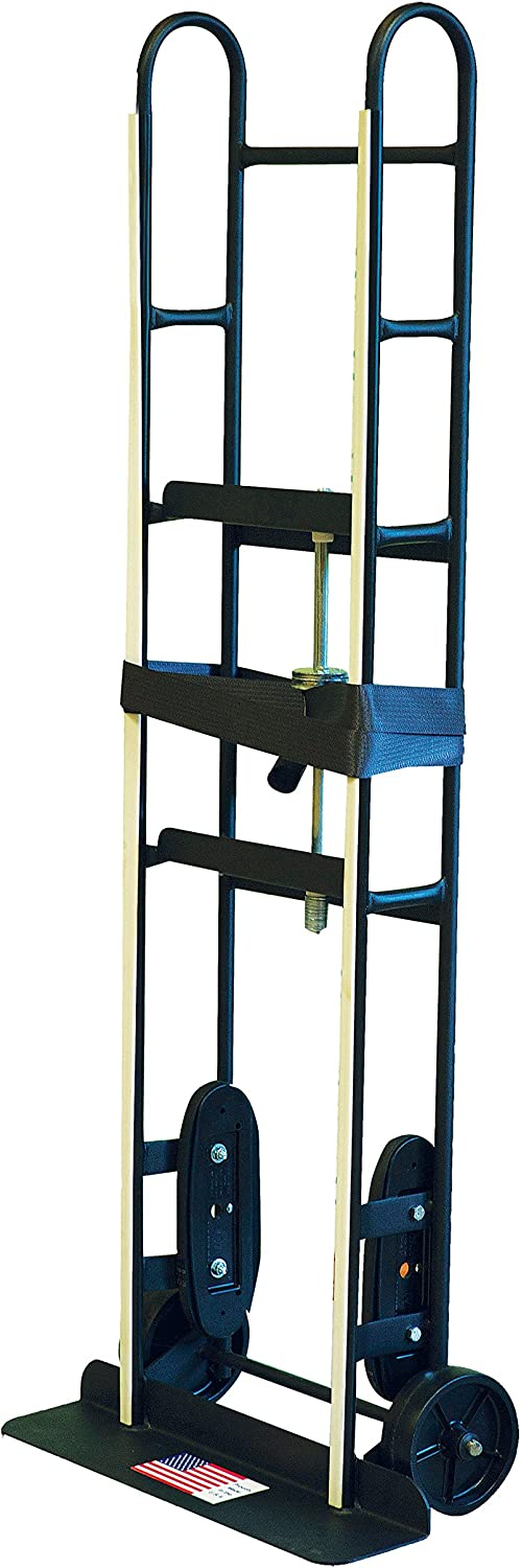Milwaukee Hand Trucks 40715 Appliance Truck with Puncture Proof Tires and Ratchet Belt Tightener