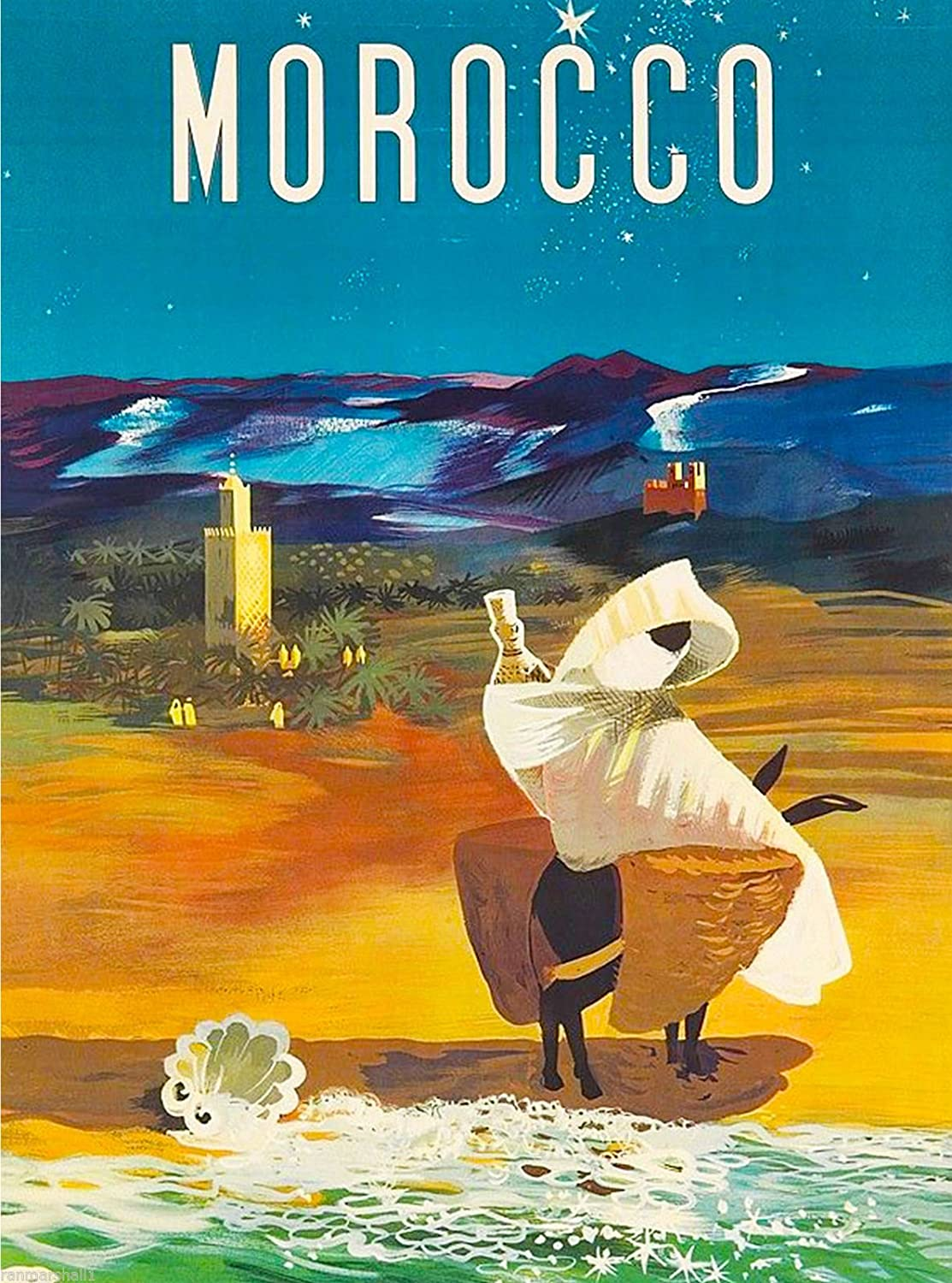Amazon.com: A SLICE IN TIME Morocco Africa Moroccan African ...