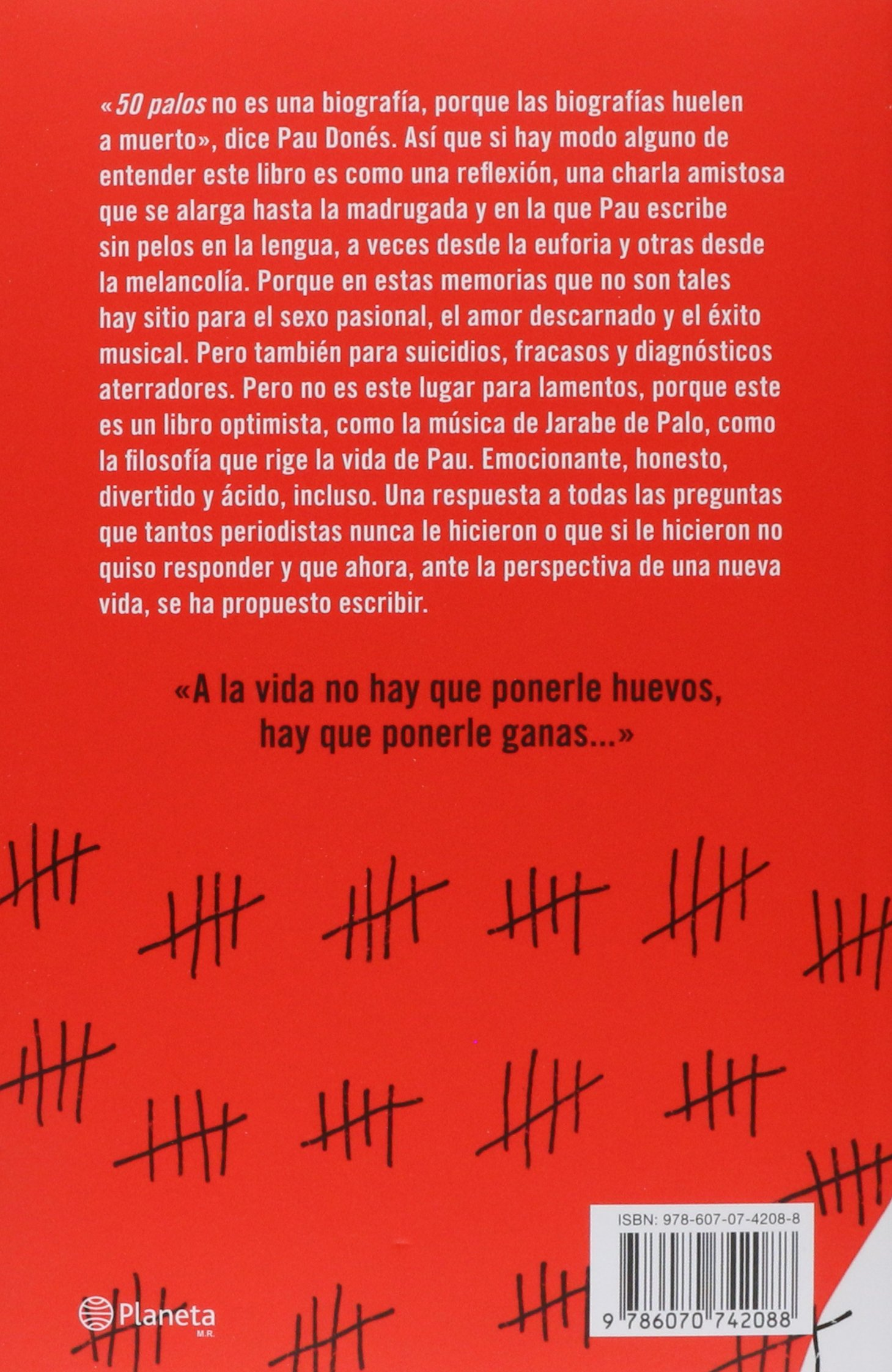 50 Palos... y sigo soñando (Spanish Edition): Donés: 9786070742088: Amazon.com: Books