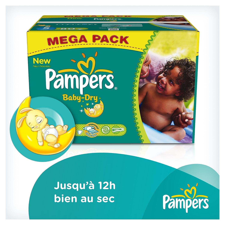 Pampers - Paquete de pañales (talla 5: 11-25 kg, 80 unidades): Amazon.es: Salud y cuidado personal