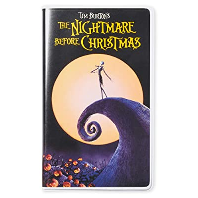 Disney Tim Burton's The Nightmare Before Christmas ''VHS Case'' Journal: Kitchen & Dining