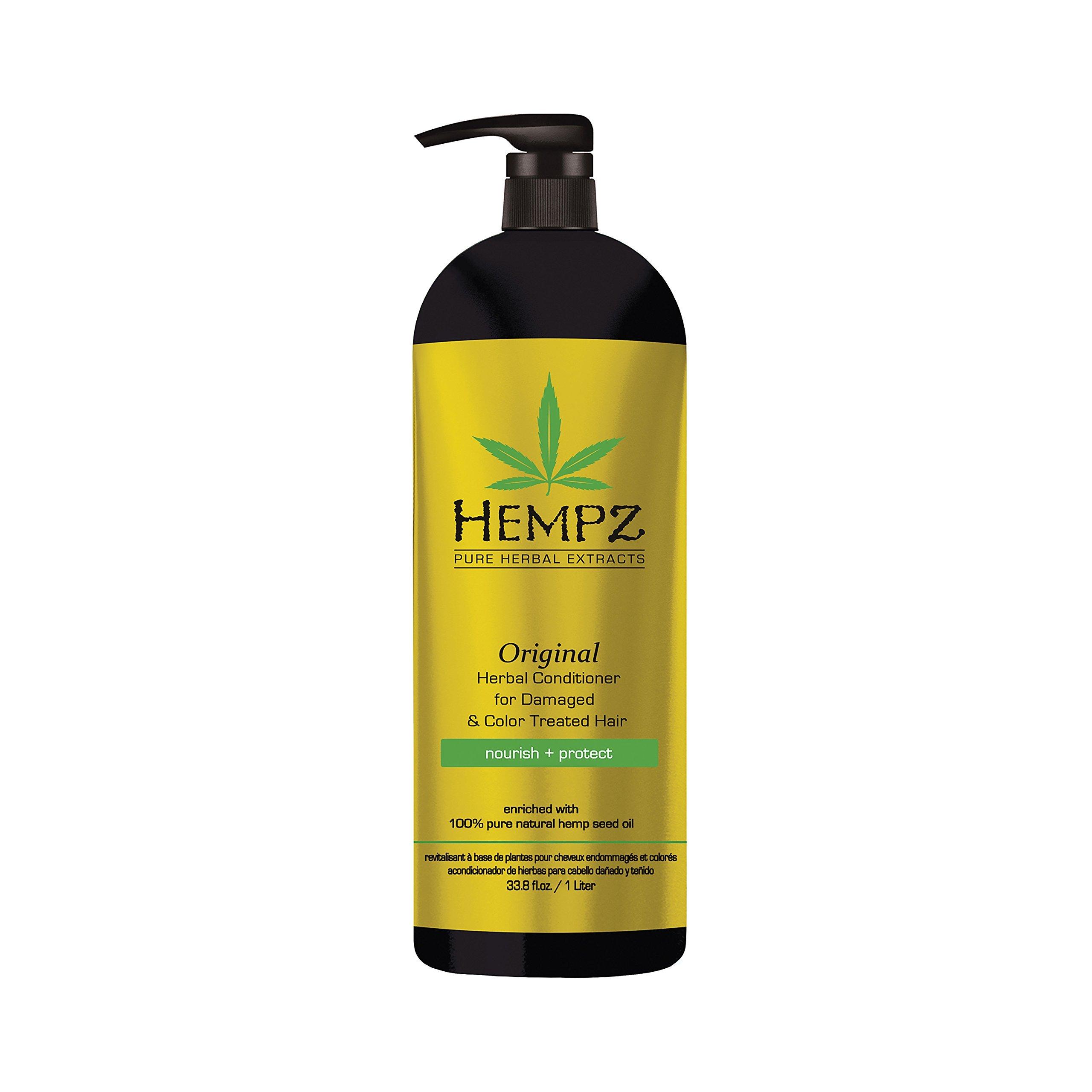 Amazon Hempz Original Herbal Shampoo For Damaged And Color