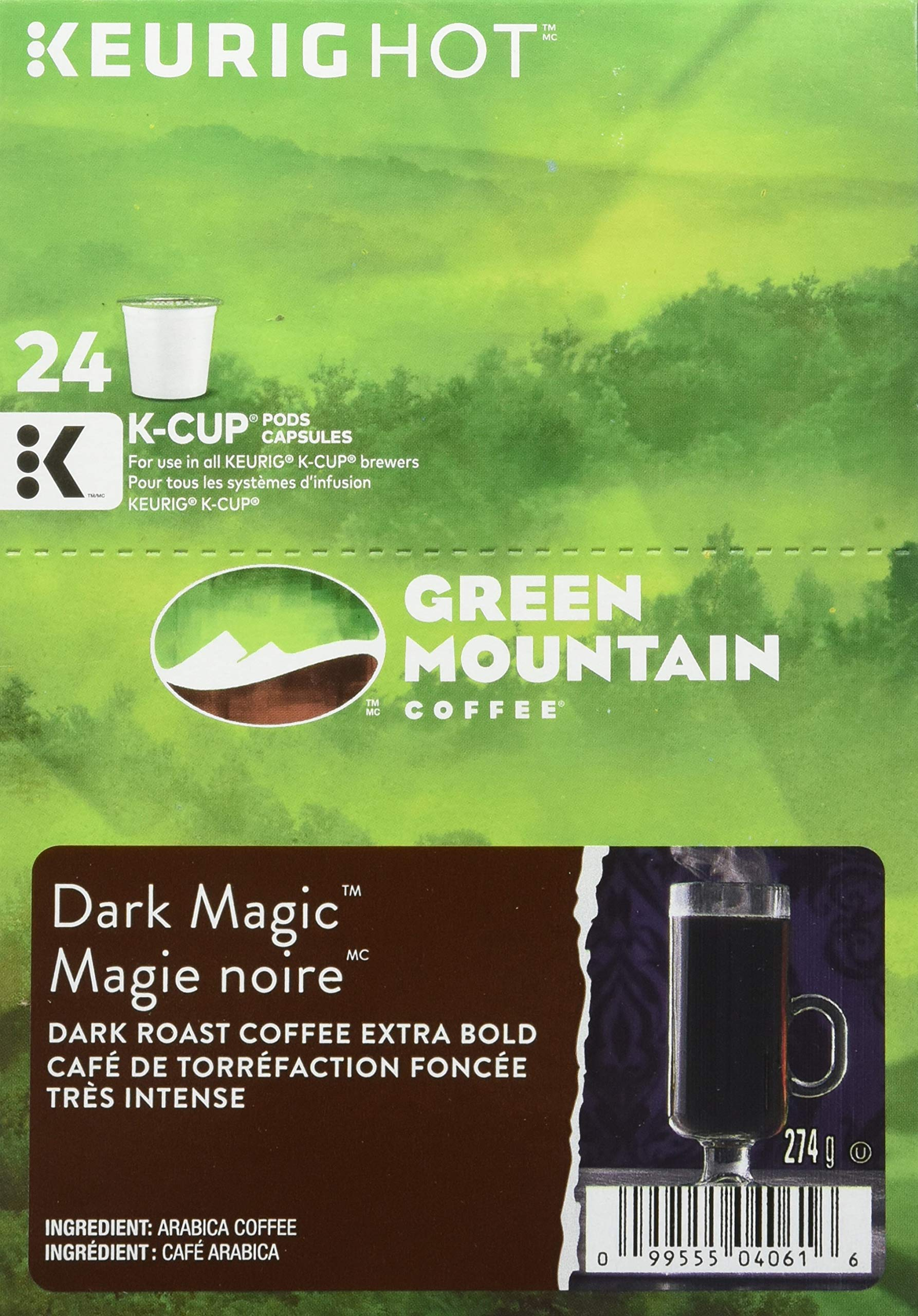Green Mountain Coffee Dark Magic single serve K-Cup pods for Keurig brewers, 48 Count by Green Mountain Coffee Roasters (Image #4)