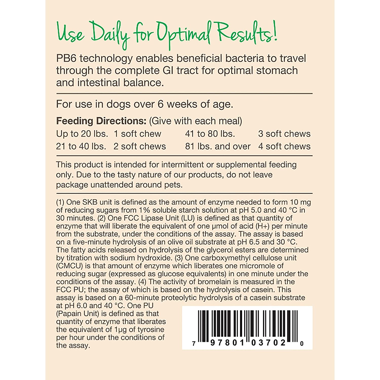 Garmon Corp naturvet Probiotics Avanzada y enzimas Plus Vet ...