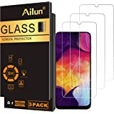 Ailun Screen Protector Compatible for Samsung Galaxy A50,A30,A50s,A30s,A40,M30,M31 Tempered Glass Screen Protector 3Pack 9H H