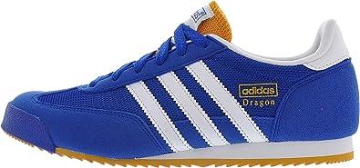 adidas Boys Dragon J Royal Blue 7
