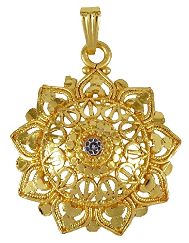 Engagement & Wedding Ethnic Goldplated Designer Necklace Charm Chain Pendant Traditional Jewellery