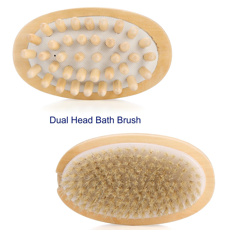 ACEVIVI Body Bath Brush Therapeutic Image 3