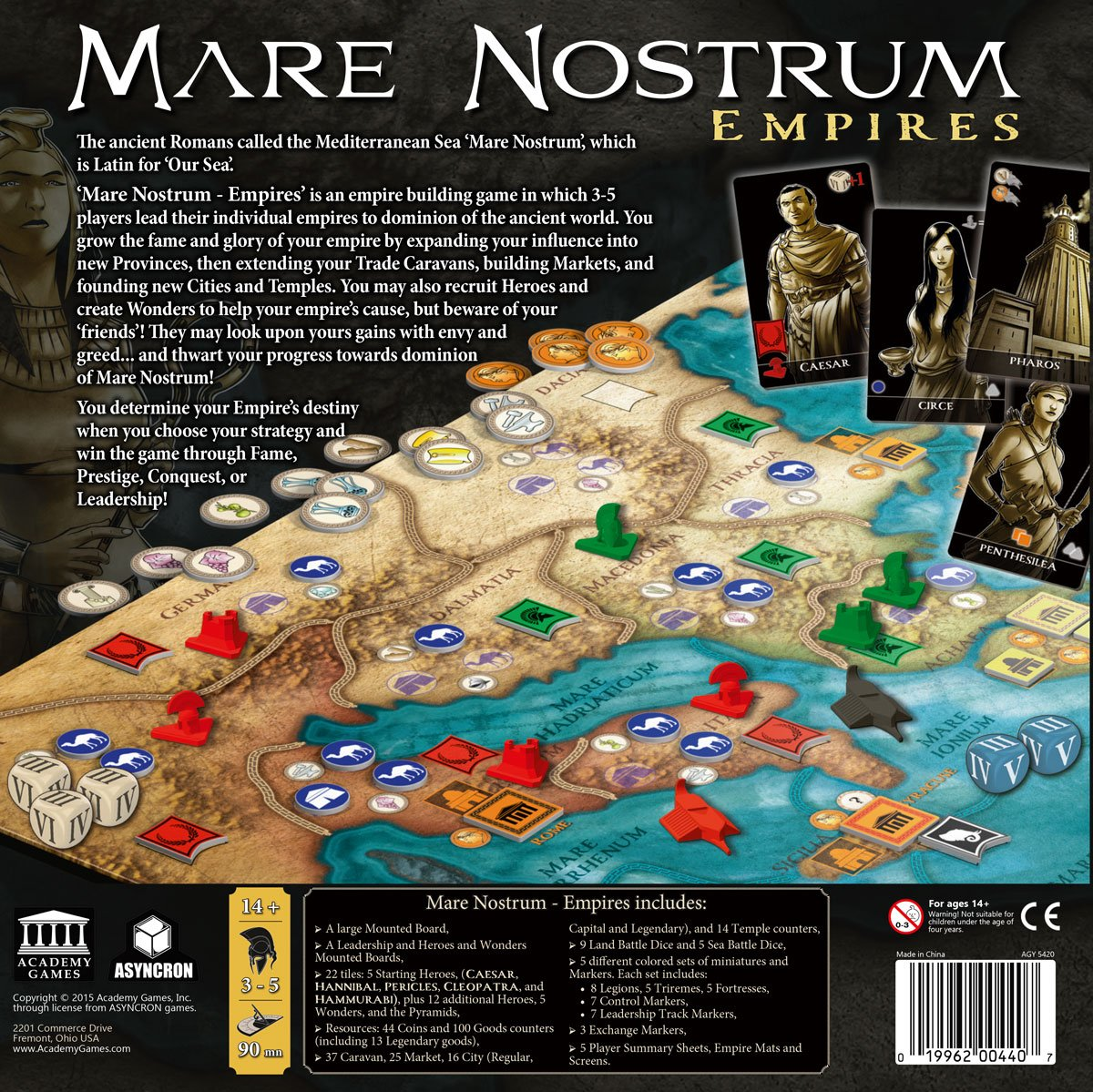 Mare Nostrum: Empires - English: Amazon.de: Spielzeug