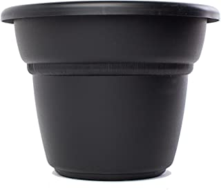 product image for Bloem Milano Planter, Black, 7""