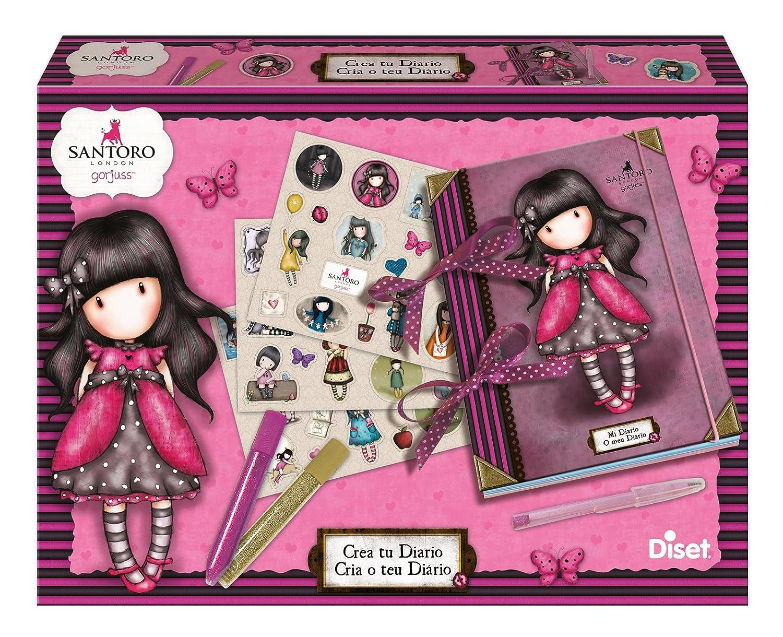 Diset CREA tu Diario, Juego Creativo 30 x 22 x 5 cm 46596: Amazon.es: Juguetes y juegos