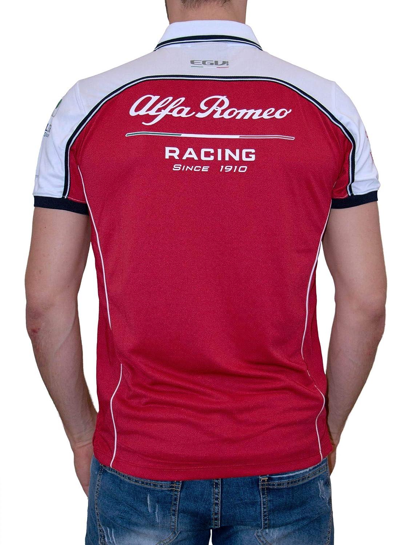 Alfa Romeo Racing - Polo para Hombre, Small: Amazon.es: Deportes y ...