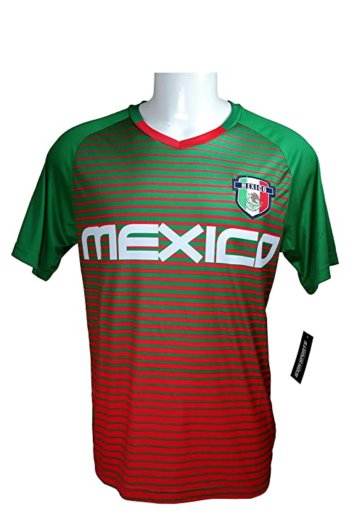 76db1b40d80 Mexico Soccer World Cup Adult Soccer Training Performance Jersey -P016 Large