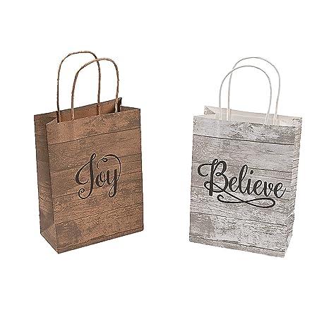 Amazon.com: Divertidas bolsas de papel kraft de tamaño ...