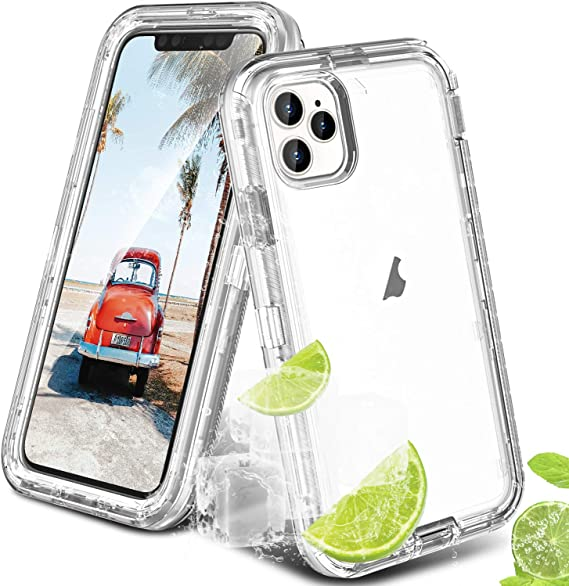 ORIbox Case for iPhone 11 pro 5.8 inches. Black Case with 4 Corners Shockproof Protection Soft Scratch-Resistant TPU Cover for iPhone 11 pro