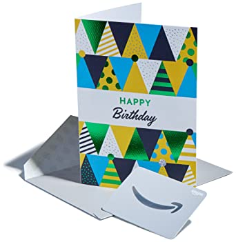 Amazon Premium Greeting Cards With Anytime Gift Pack Of 3 Birthday Hats Design