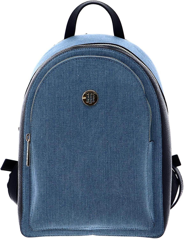 Tommy Hilfiger TH Core Backpack Denim, Mochila Mujer, Mezclilla, OS