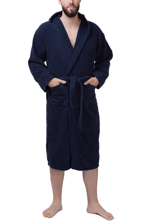 Accappatoio in spugna da donna SLOUCHER accappatoio da sauna con cappuccio al 100/% cotone