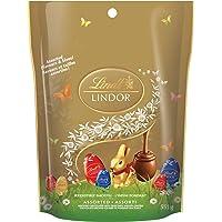 Lindt Lindor Easter Eggs Assorted Chocolate & Size, Mega Bag, 551g