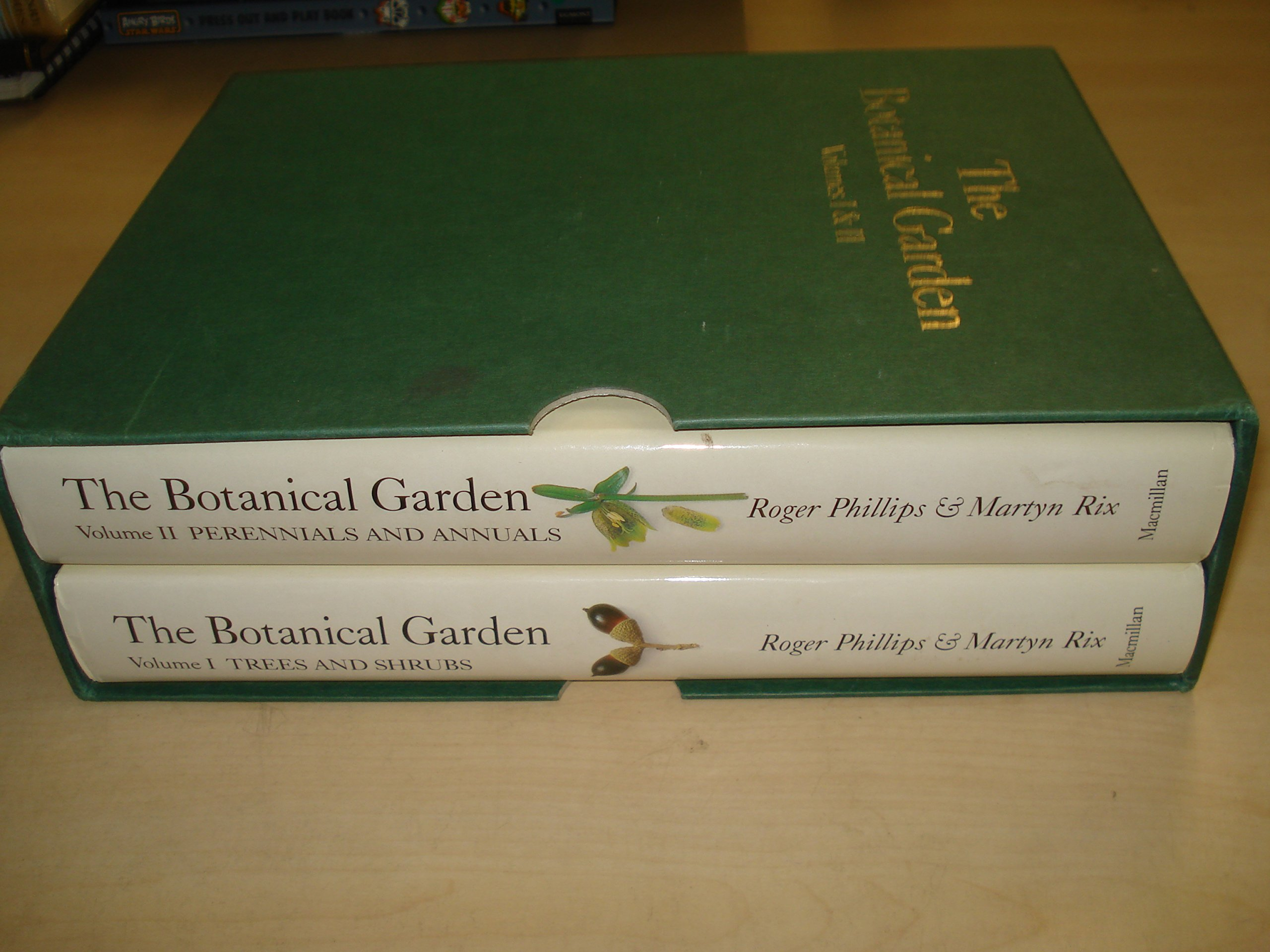 The Botanical Garden - Two Volumes: I. Trees and Shrubs; II. Perennials and Annuals