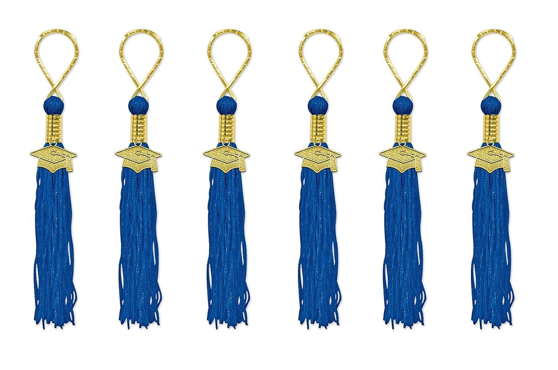 Beistle TS01 Tasseled Key Chains Gold 6-Pack
