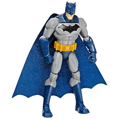 "DC Comics Total Heroes Detective Batman 6"" Action Figure: Toys & Games"