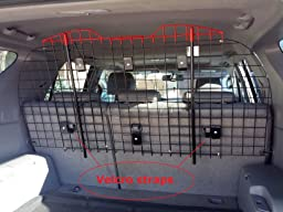 Amazon Com Universal Wire Vehicle Barrier From Kennel
