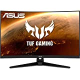 "ASUS TUF Gaming VG32VQ1B 31.5"" Curved Monitor, WQHD (2560 x 1440), 165Hz (Supports 144Hz), 1ms, FreeSync Premium…"