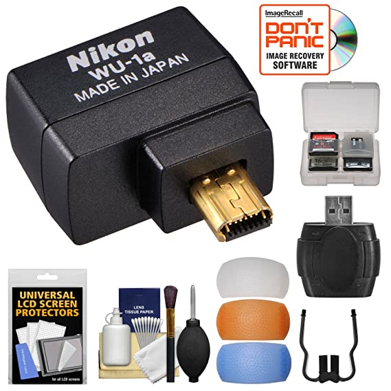 Amazon Nikon Wu 1a Wireless Wi Fi Mobile Adapter For Iphone Or