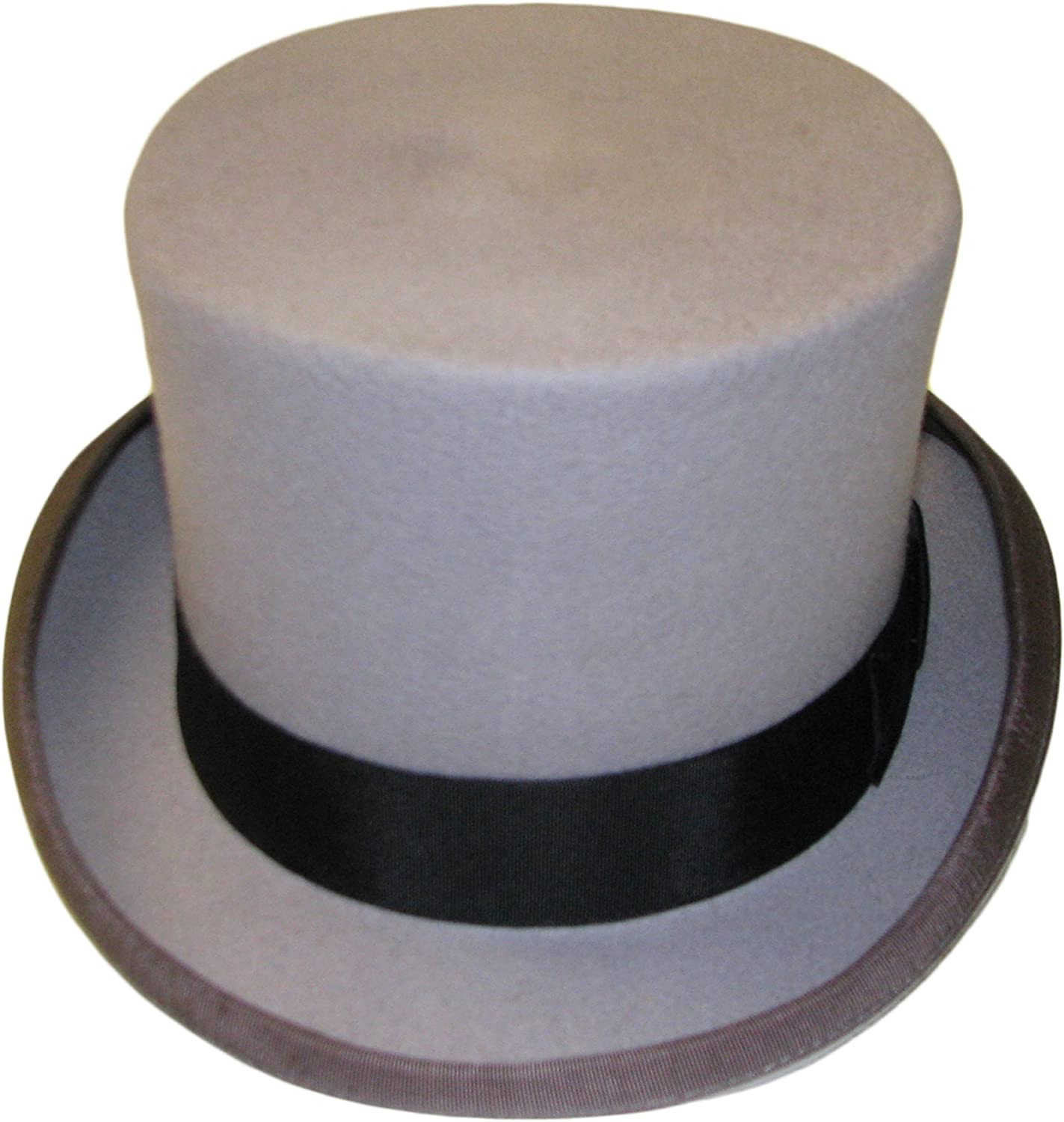 100/% Wool High Quality Mustard Wedding Event Top Hat With Satin Lining