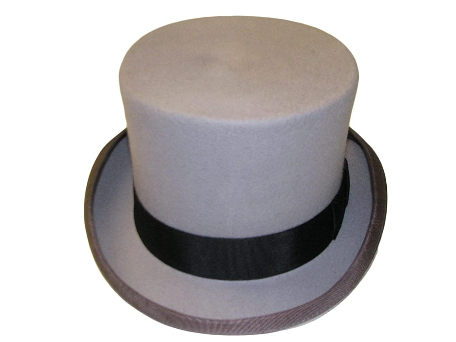 BOXED - HIGH QUALITY 100/% WOOL TOP HAT - SATIN LINED