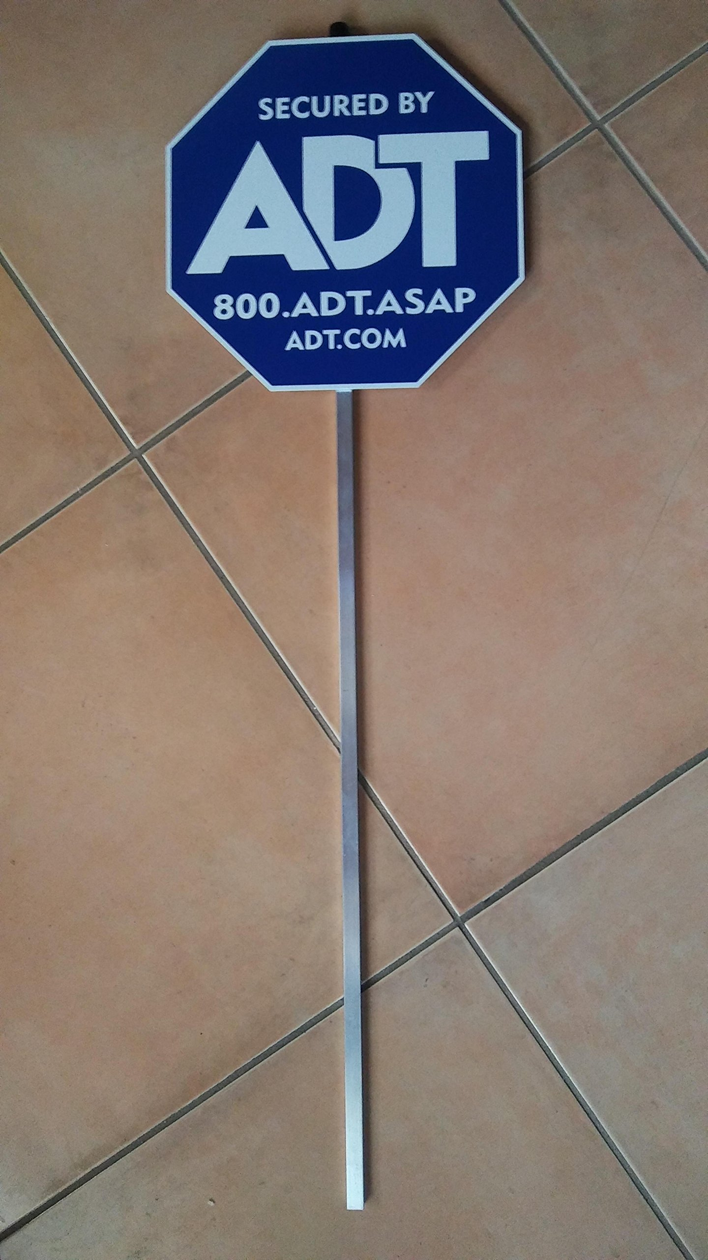 Decorative Home or Business yard Sign PVC with aluminum post