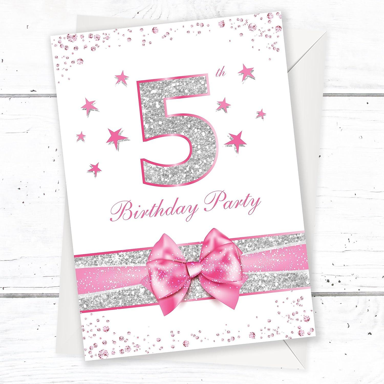 Fifth Birthday Party Invitations