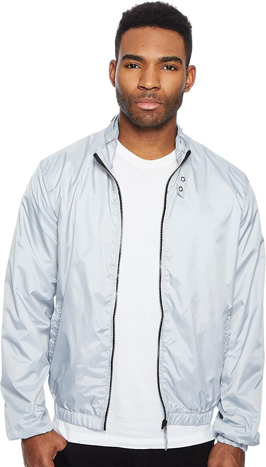 Members Only OUTERWEAR メンズ B07776S568 X-Large|ライトグレーストライプ ライトグレーストライプ X-Large