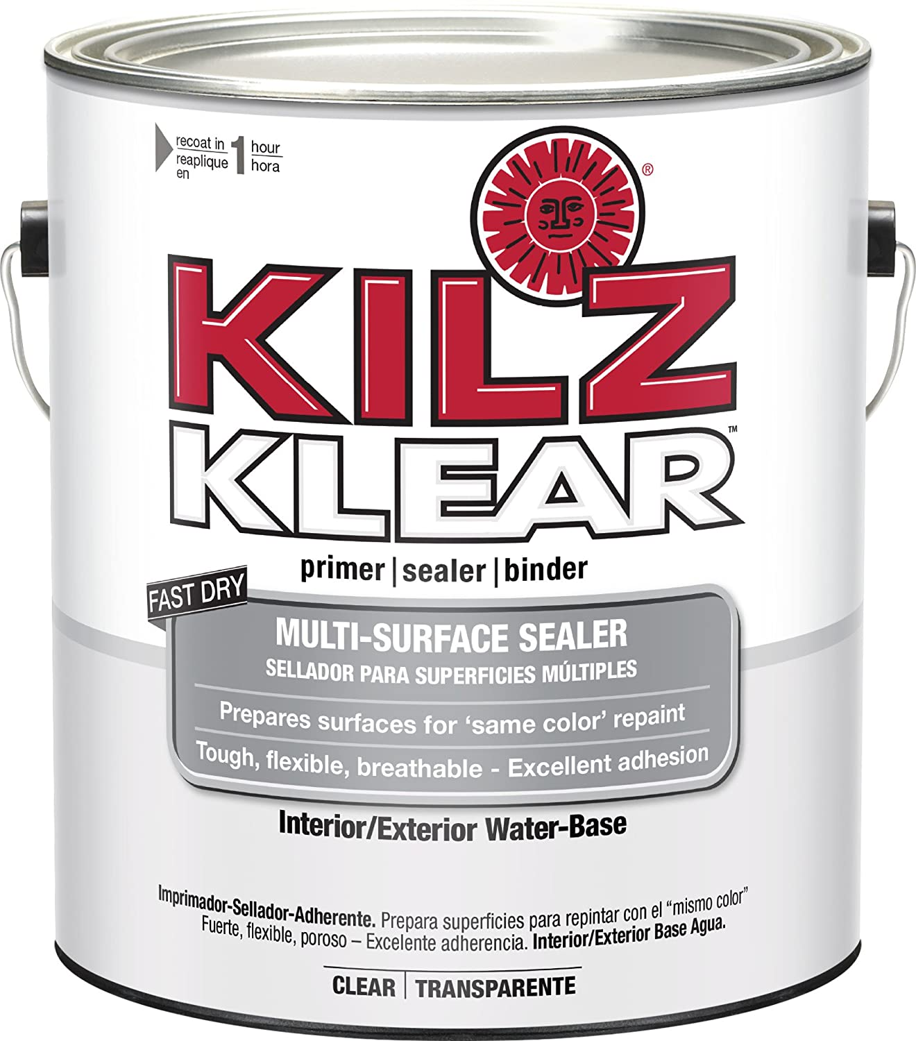 Amazon.com: KILZ Klear Multi-Surface Stain Blocking Interior ...