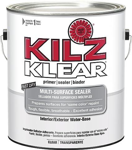 Amazon.com: KILZ Klear Multi-Surface Stain Blocking Interior ...