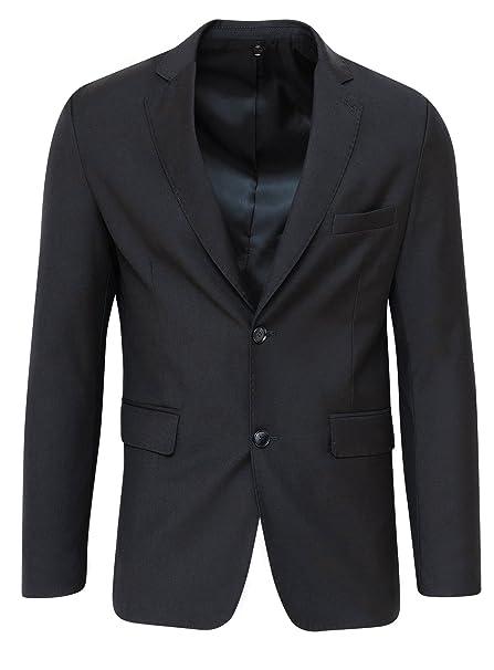 giacca uomo elegante nero