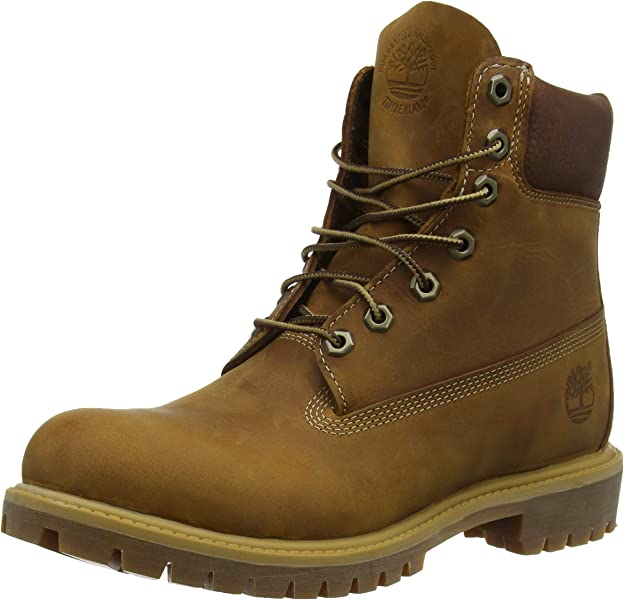 2f8685d58ad Timberland Mens Heritage 6 quot  Premium Boot Burnt Orange Worn Oiled All  Leather ...