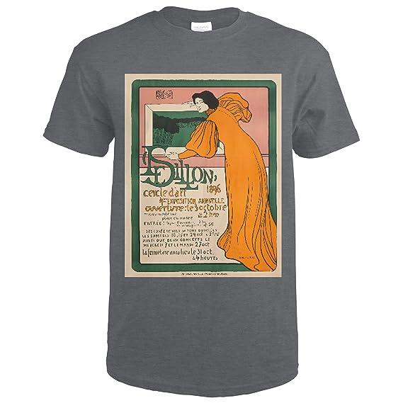 Amazon.com: Le Sillon - 4me Exposition Vintage Poster ...