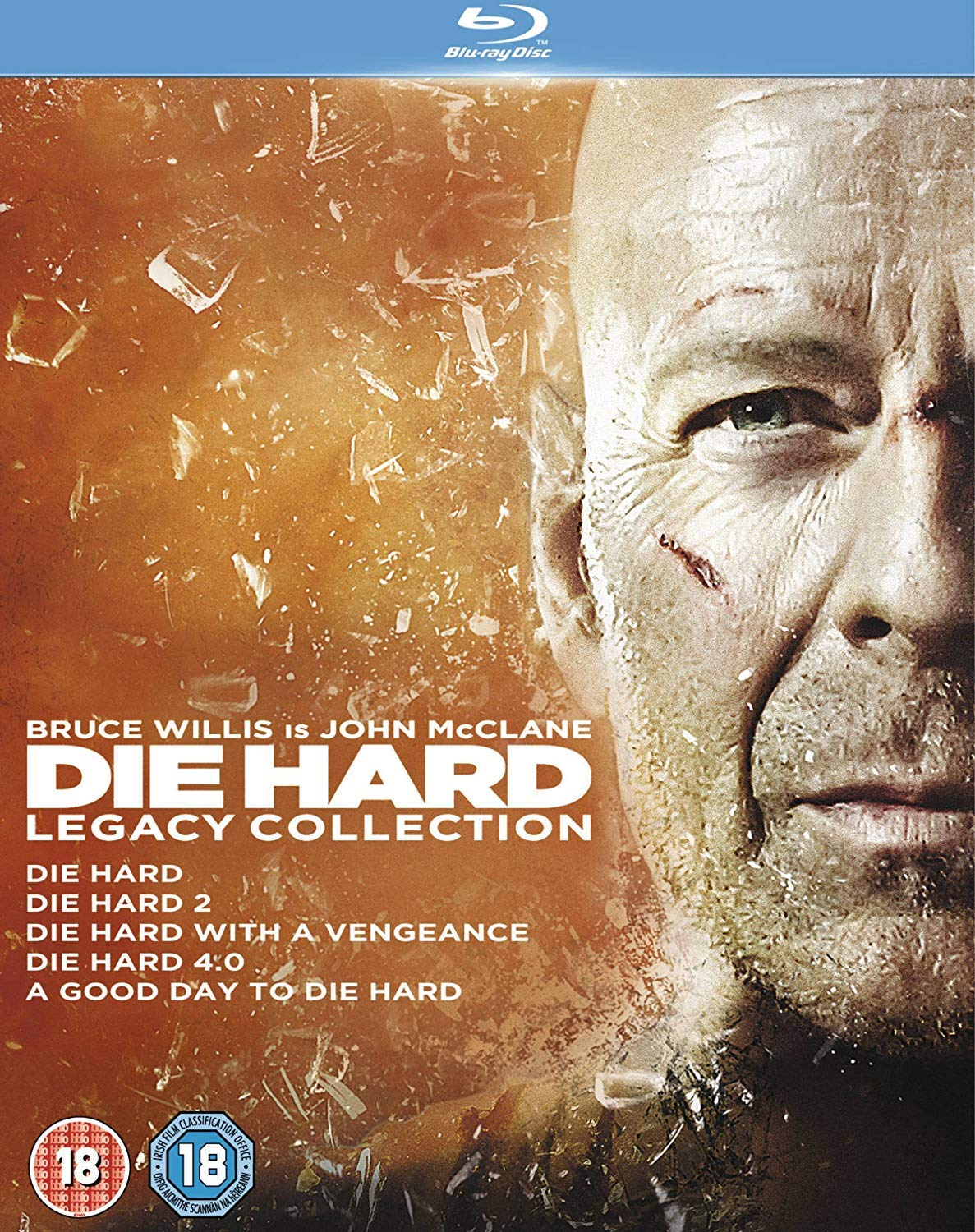 Die Hard: Legacy Collection (Films 1-5) [Edizione: Regno Unito] [Reino Unido] [Blu-ray]
