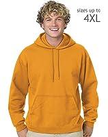 Hanes Comfortblend Pullover Hoodie Sweatshirt, XL-Gold